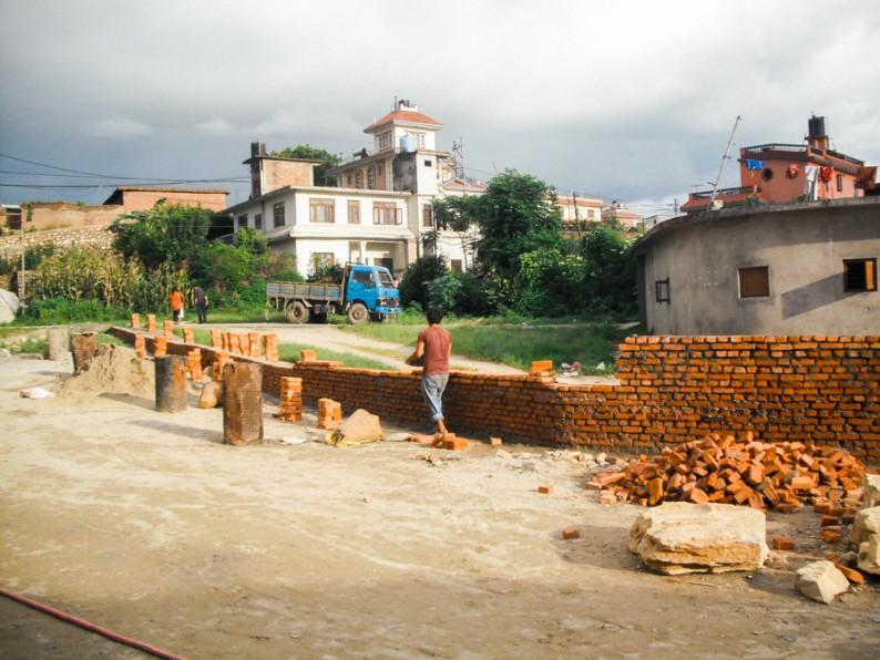 Abigail Rebuilding Nepal