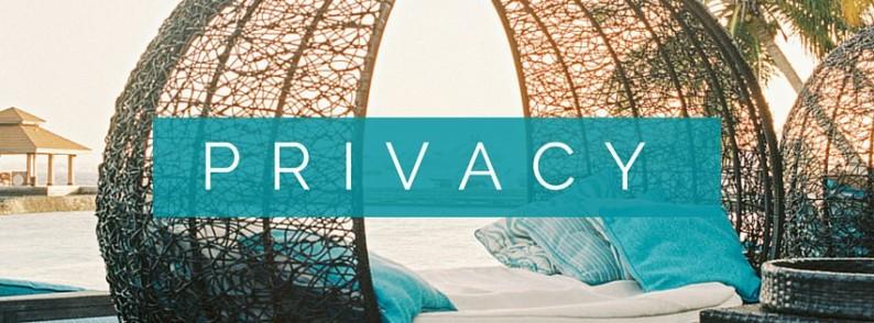 Private wicker bed cabana at Kurumba, Maldives   Privacy Policy   HDYTI