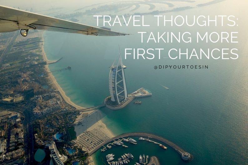 Dubai Skyline First Chances