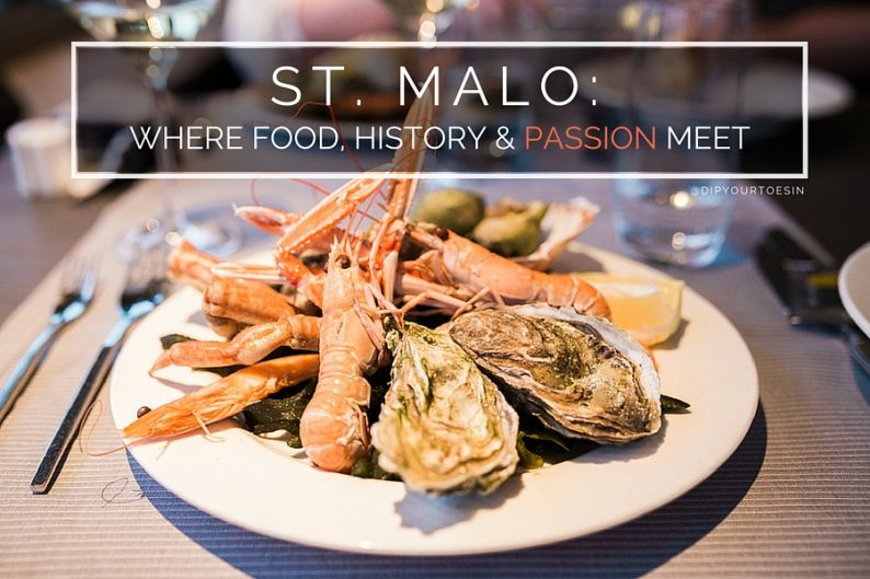 Saint-Malo Seafood | Brittany | @dipyourtoesin