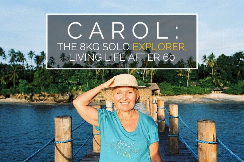 Carol: The 8kg Solo Explorer, Living Life after 60 (Zanzi Resort, Zanzibar) | @dipyourtoesin