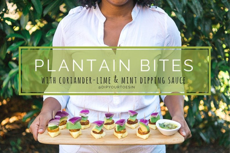 Plantain Bites Recipe | @dipyourtoesin