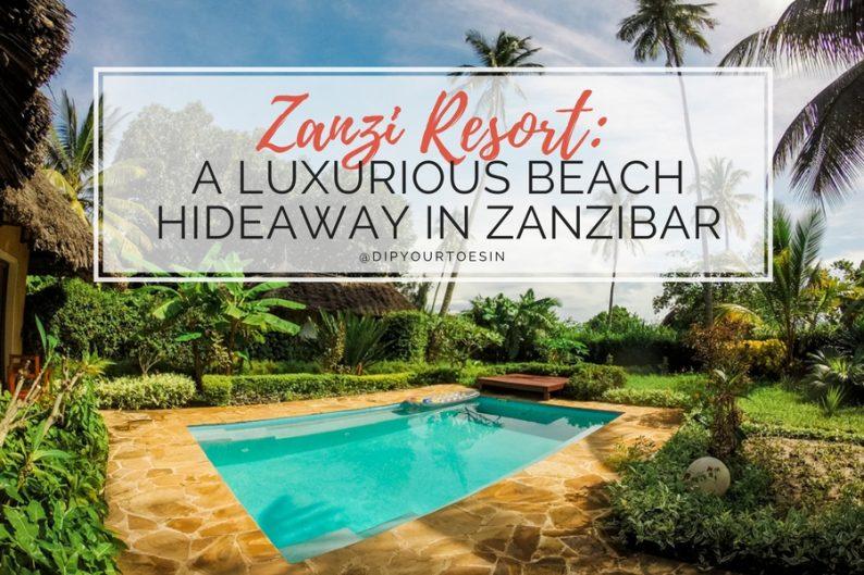 Zanzi Resort Zanzibar Review Header Image