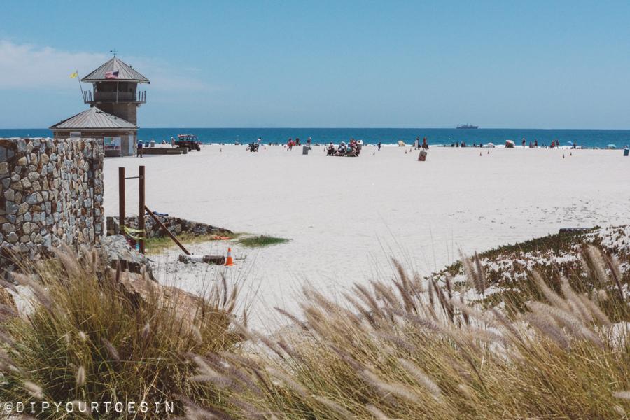 Coronado Beach in San Diego