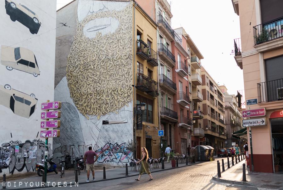 Blu 's Moses   Valencia Urban Adventures   Street Art