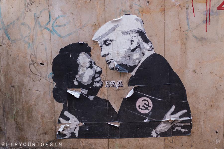 Rita Barberá   Donald Trump   Street Art   Valencia