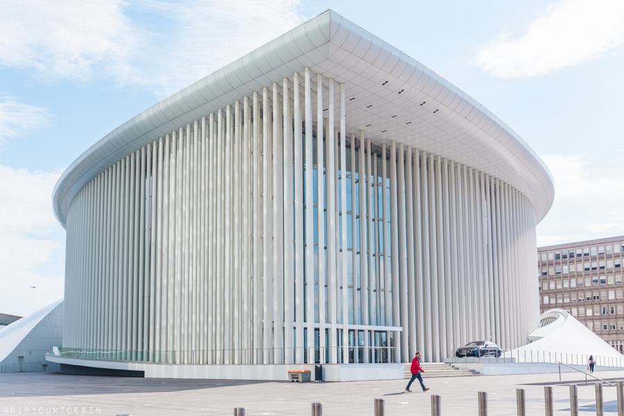 Visit Luxembourg   Philharmonie   Kirchberg